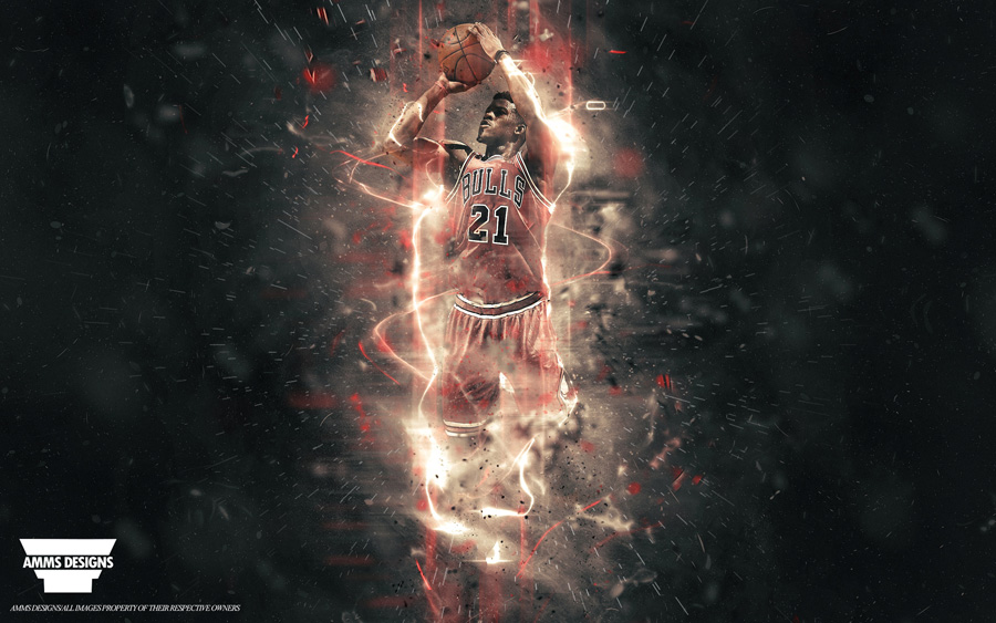 Jimmy Butler Chicago Bulls 2015 Wallpaper