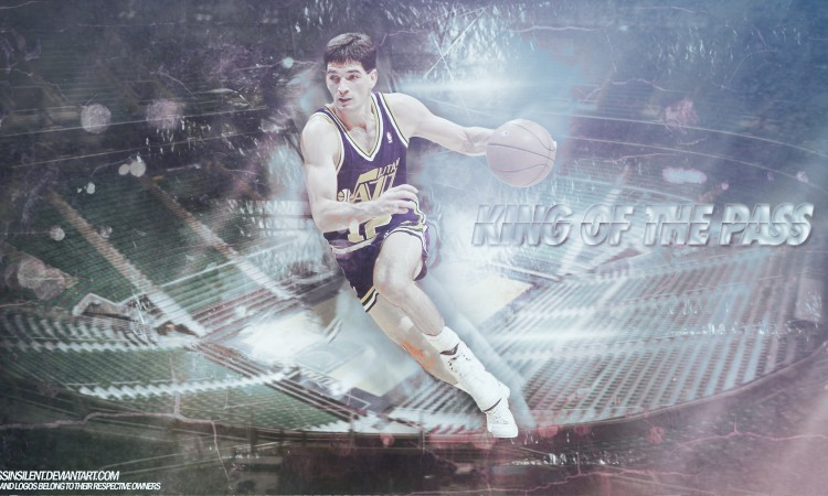 John Stockon Utah Jazz 1600x900