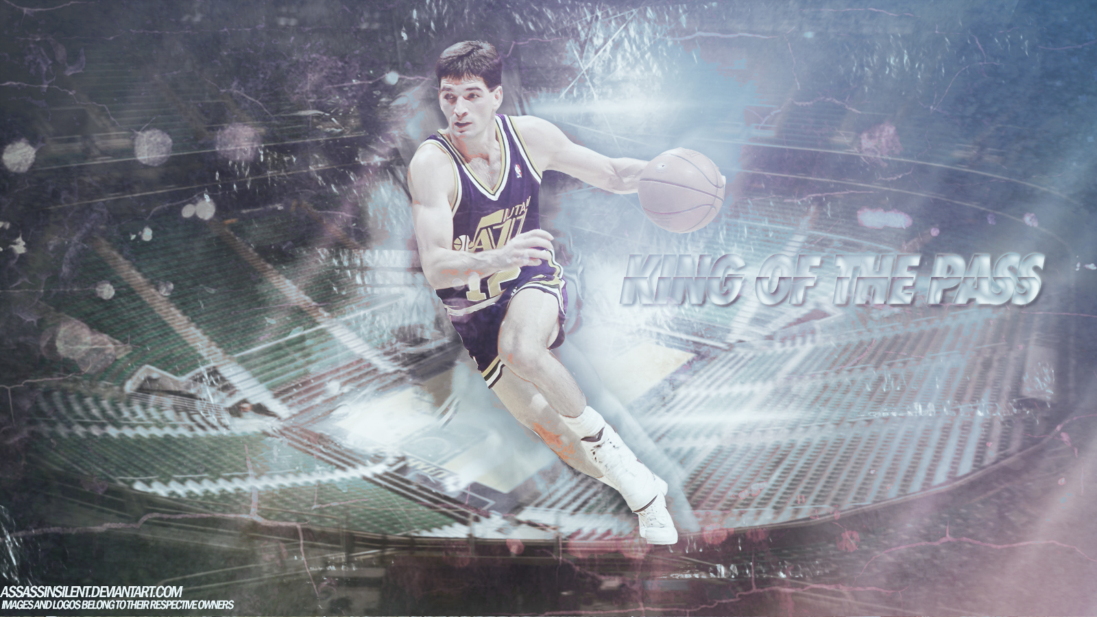 John Stockton Utah Jazz 1600x900