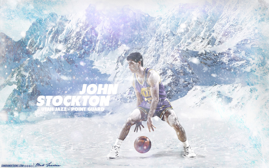 John Stockton Utah Jazz 2880x1800 Wallpaper