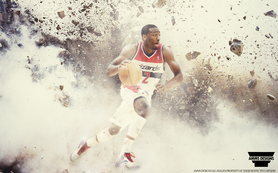 John Wall Washington Wizards 2014 Wallpaper