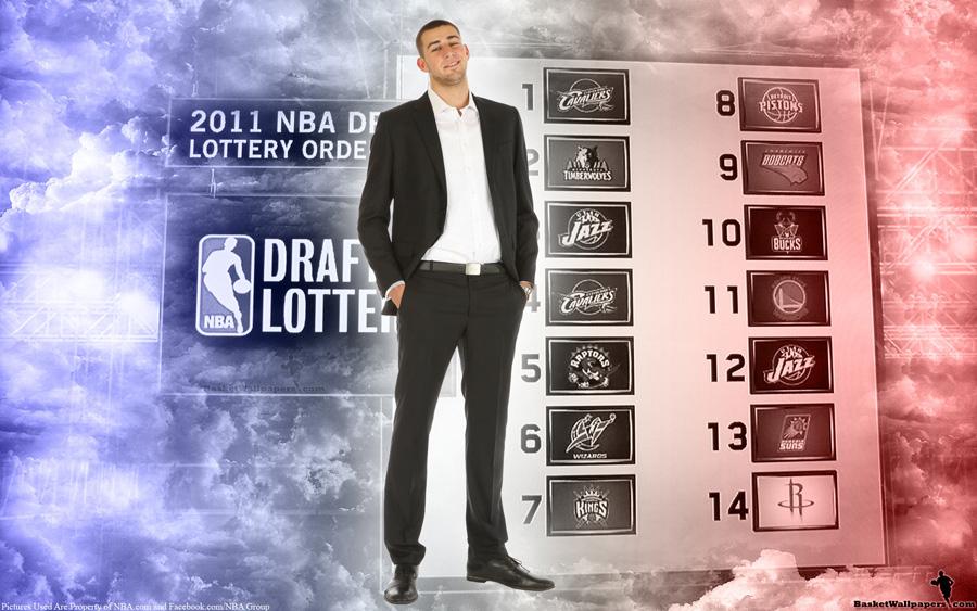 Jonas Valanciunas 2011 NBA Draft Widescreen Wallpaper
