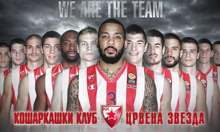 KK Crvena Zvezda  2015 Wallpaper