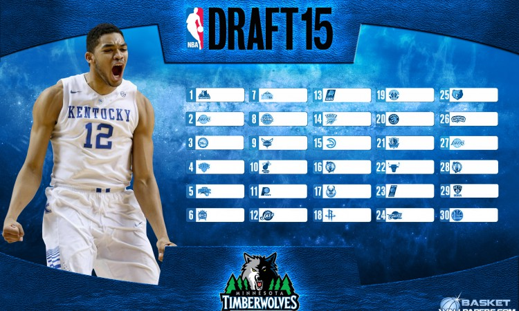 Karl-Anthony Towns 2015 NBA Draft Wallpaper