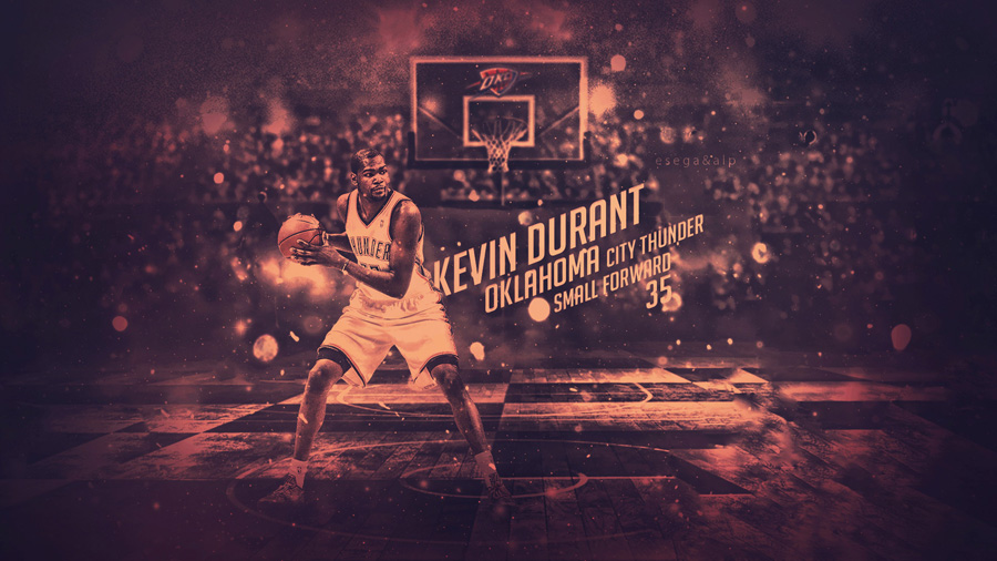 Kevin Durant Thunder 2014 Wallpaper