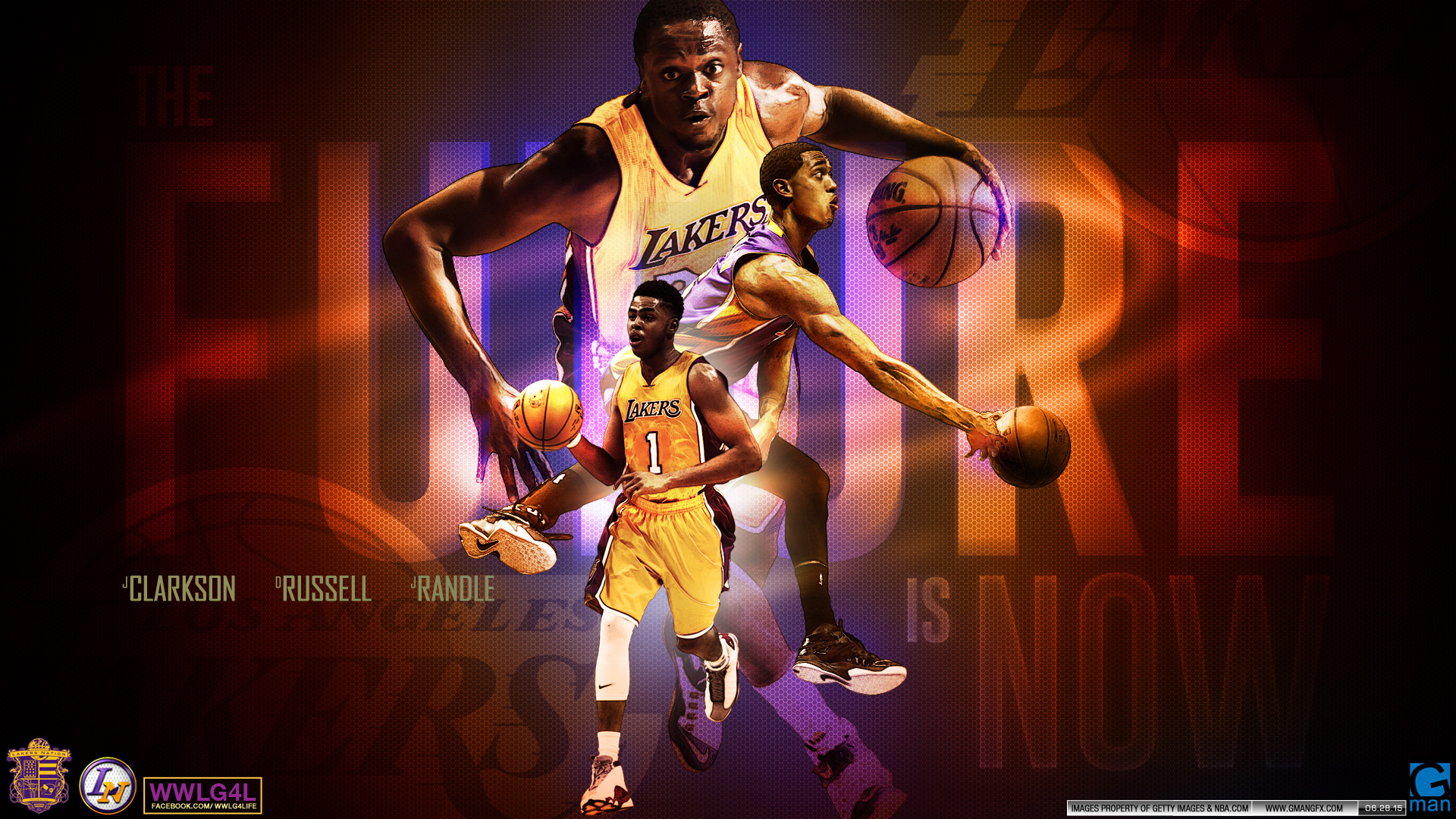 LA Lakers Future 2015 Wallpaper