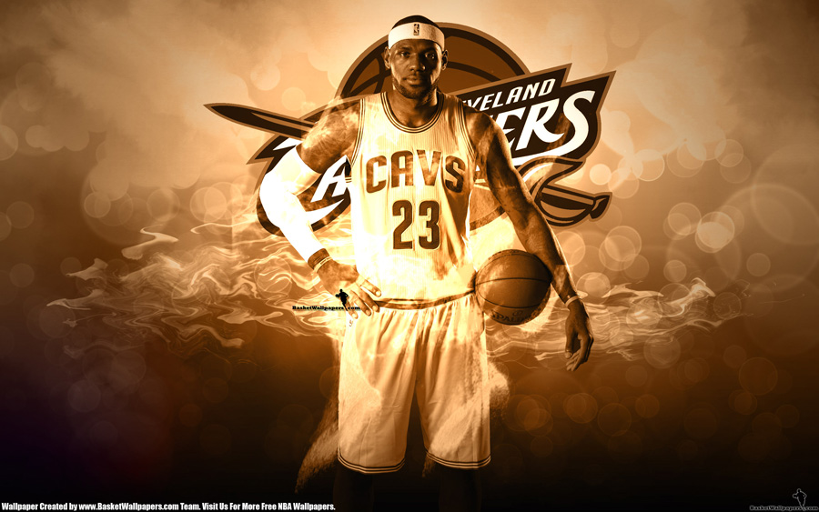 LeBron James Cavaliers 2014 Wallpaper