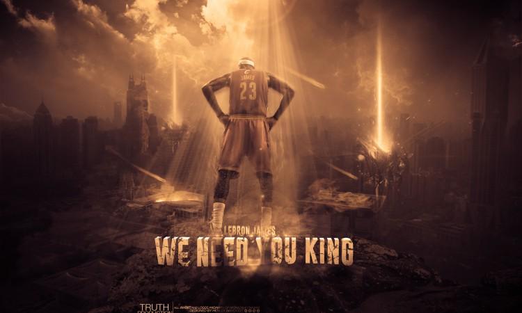 LeBron James Cavs Need You 2880x1800 Wallpaper