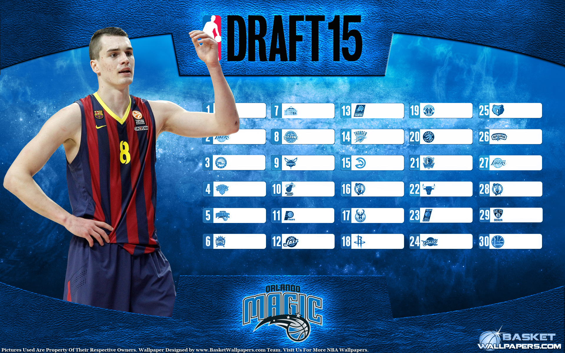 Mario Hezonja Magic 2015 NBA Draft Wallpaper