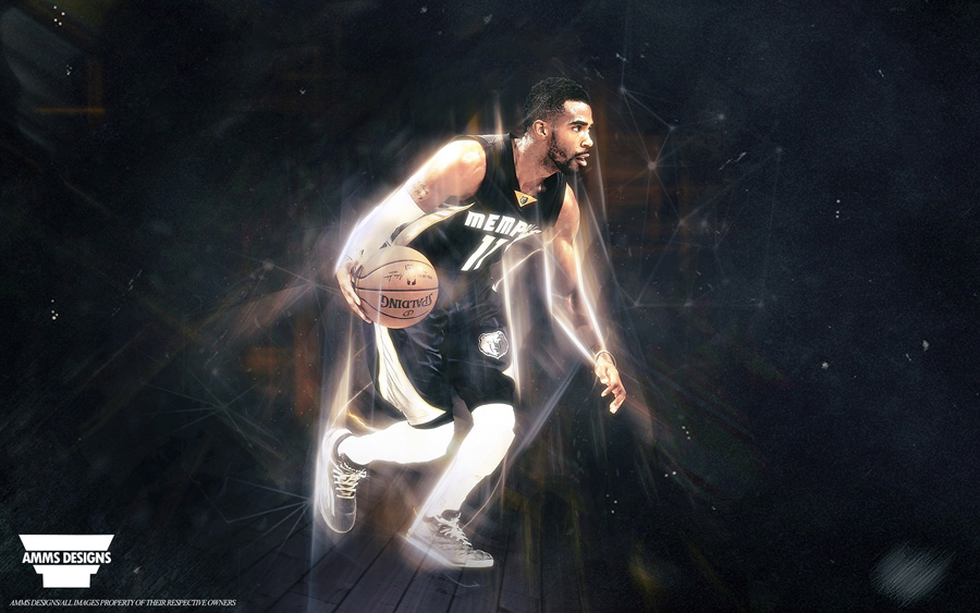 Mike Conley Memphis Grizzlies 2015 Wallpaper