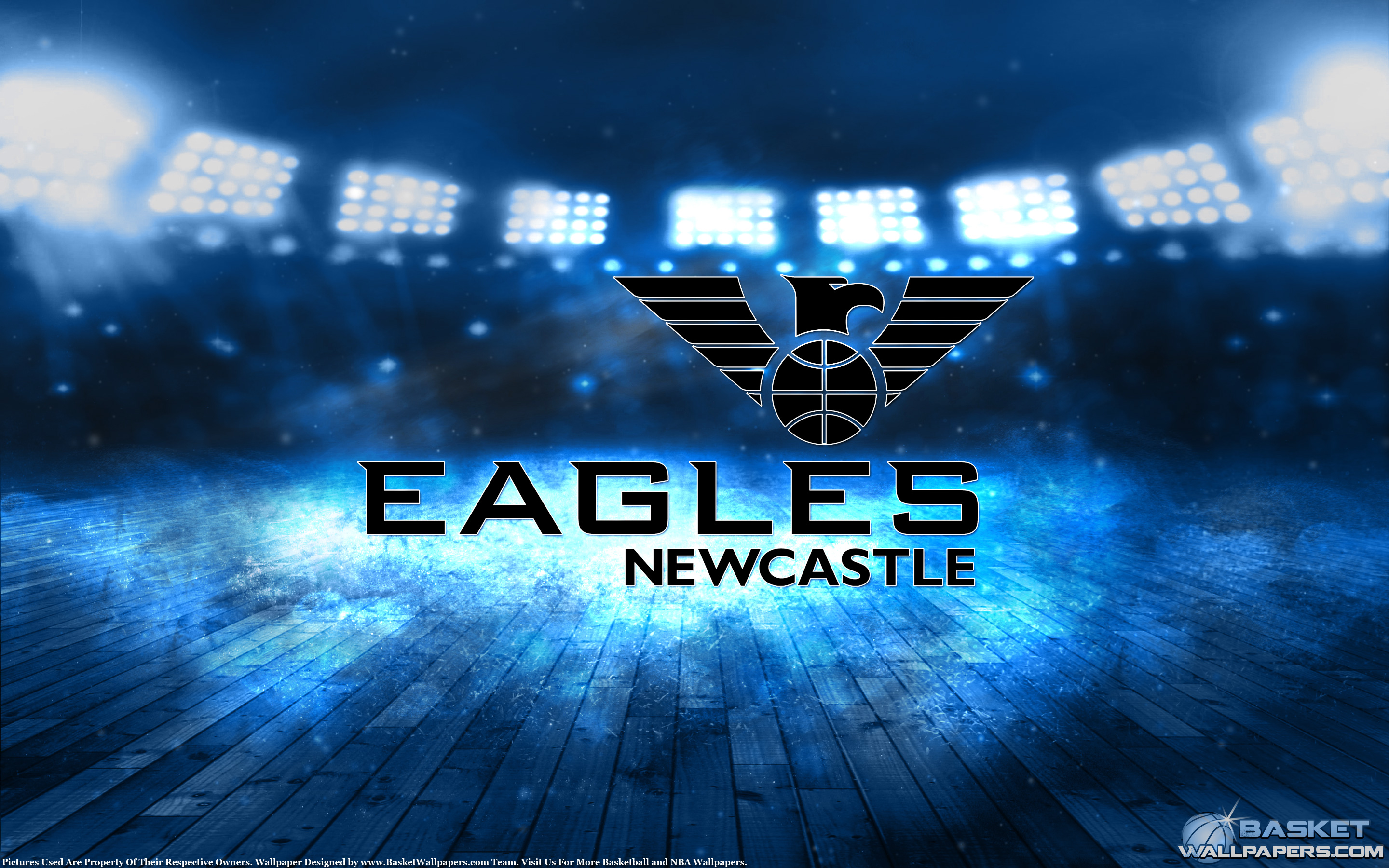 Newcastle Eagles 2015 Champions Wallpaper