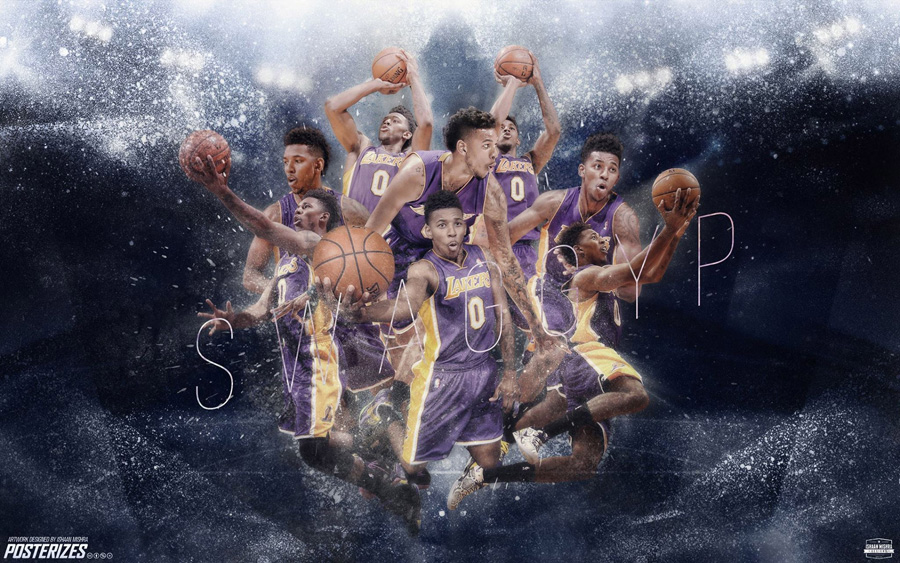 Nick Young LA Lakers 2014-2015 Wallpaper