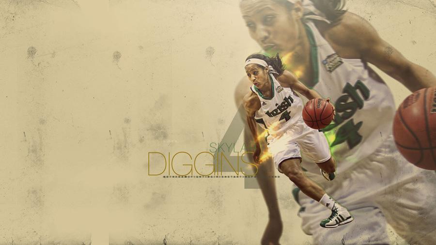 Skylar Diggins Notre Dame 1920x1080 Wallpaper