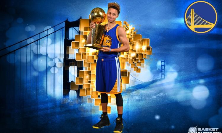 Stephen Curry 2015 NBA Champion 2880x1800 Wallpaper