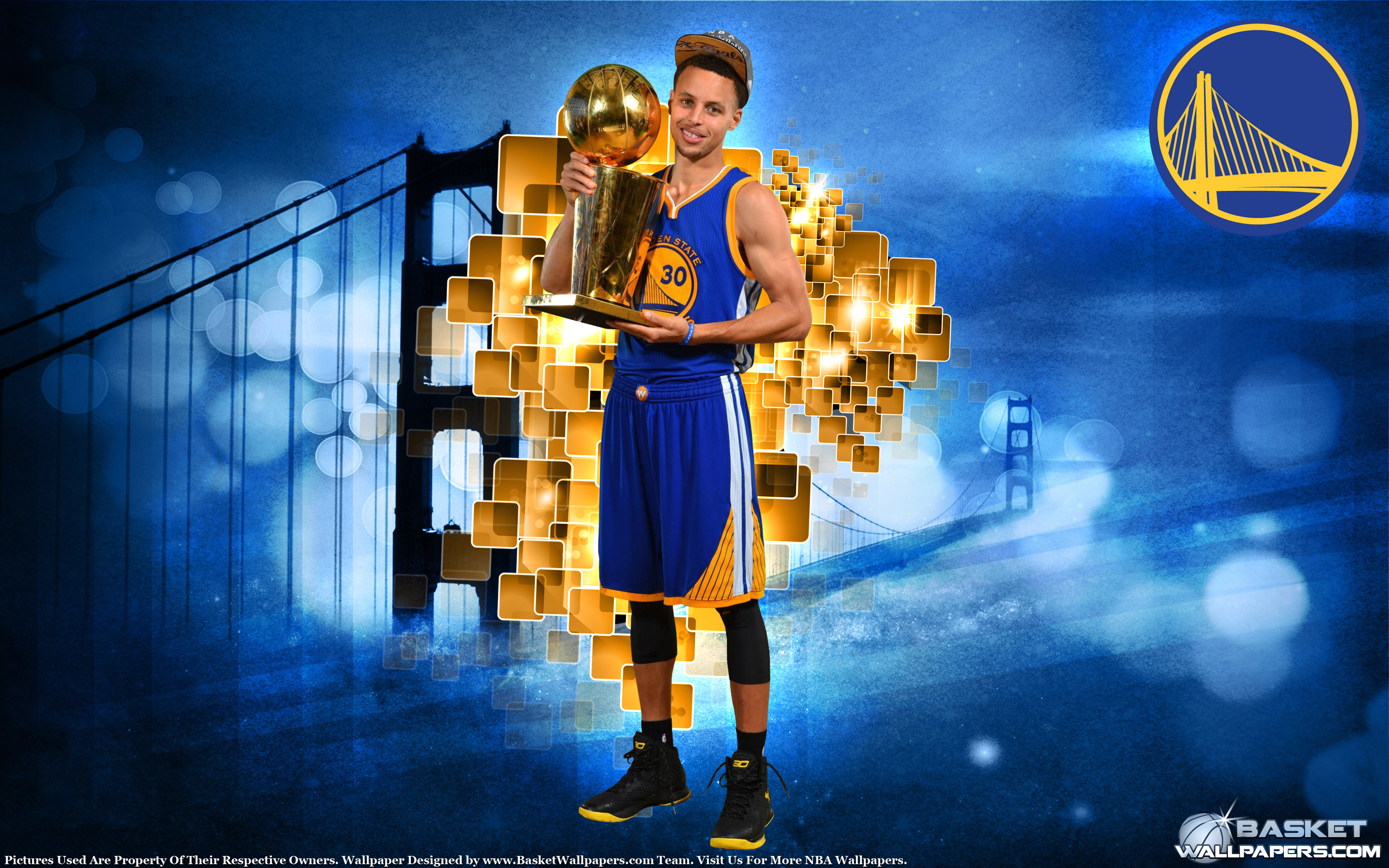 Stephen Curry 2015 NBA Champion 2880x1800 Wallpaper