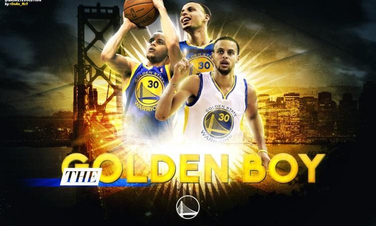 Stephen Curry The Golden Boy 2015 Wallpaper