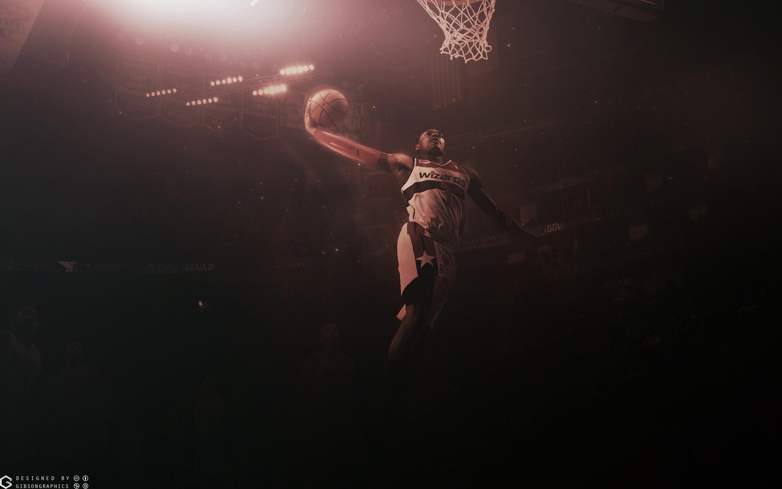 Bradley Beal Wizards Dunk 2015 Wallpaper