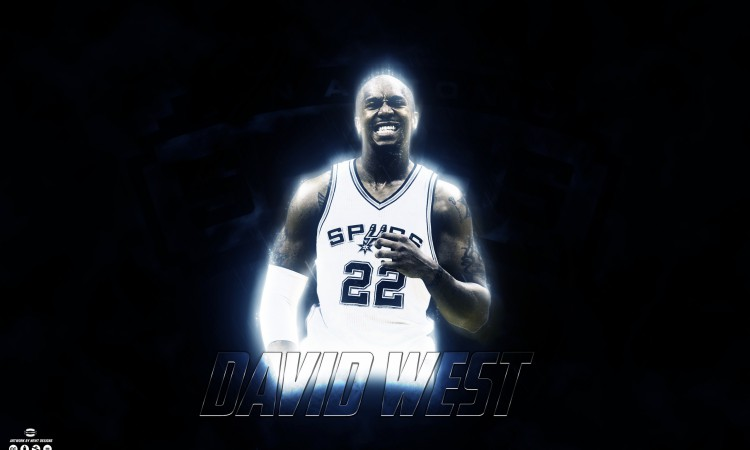 David West San Antonio Spurs 2015 Wallpaper