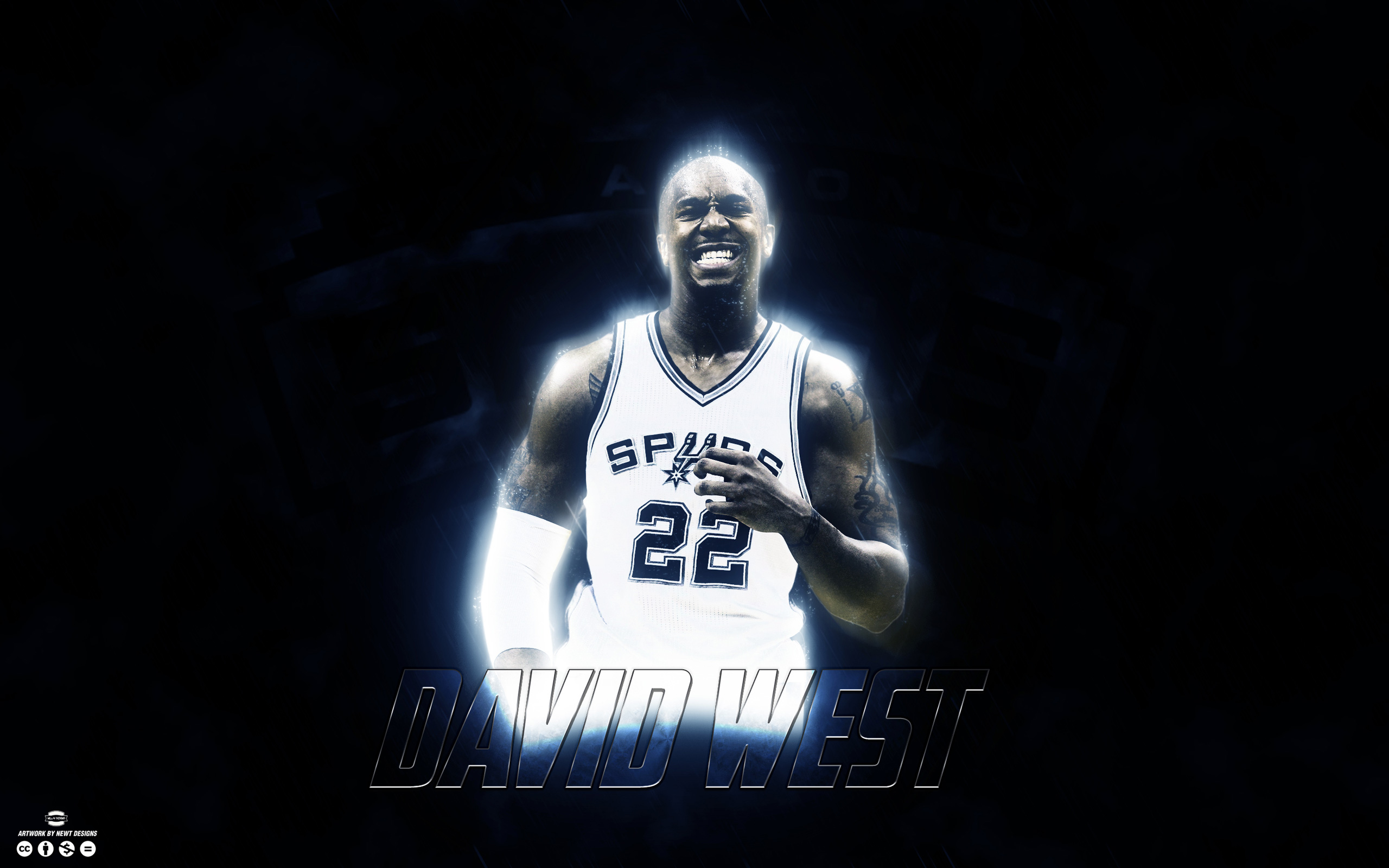 David West San Antonio Spurs 2015 Wallpaper | Basketball Wallpapers at BasketWallpapers.com