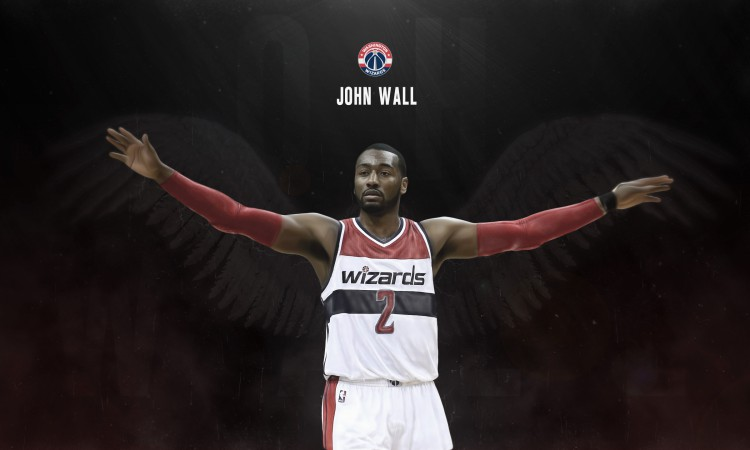 John Wall Wizards 2015 2560x1440 Wallpaper