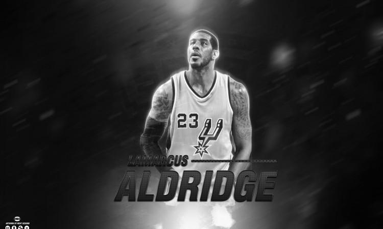 LaMarcus Aldridge Spurs 2015 Wallpaper