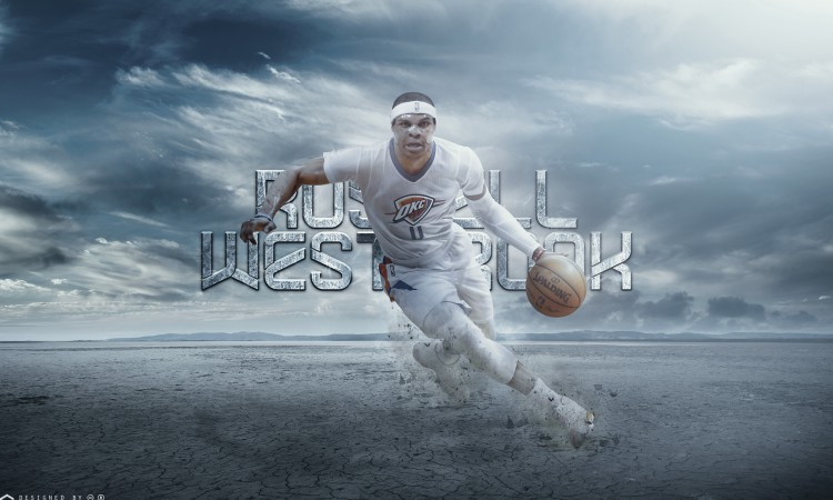 Russ Westbrook Thunder 2015 2560x1600 Wallpaper