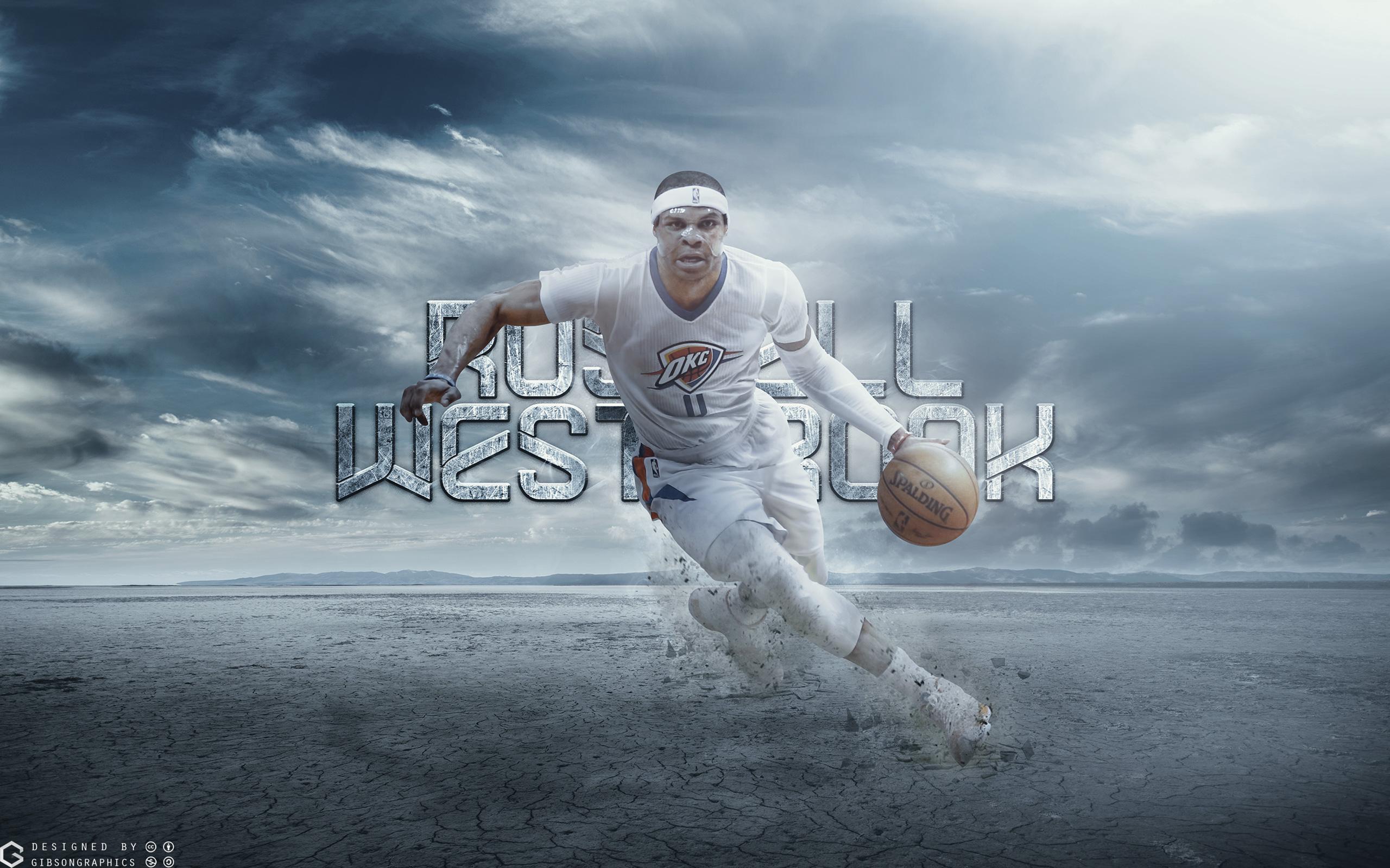 Russ Westbrook Thunder 2015 2560x1600 Wallpaper