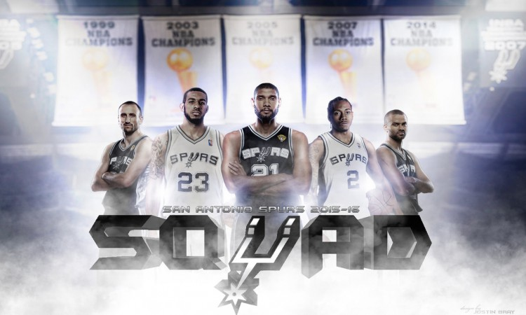 San Antonio Spurs Big 5 1280x800 Wallpaper