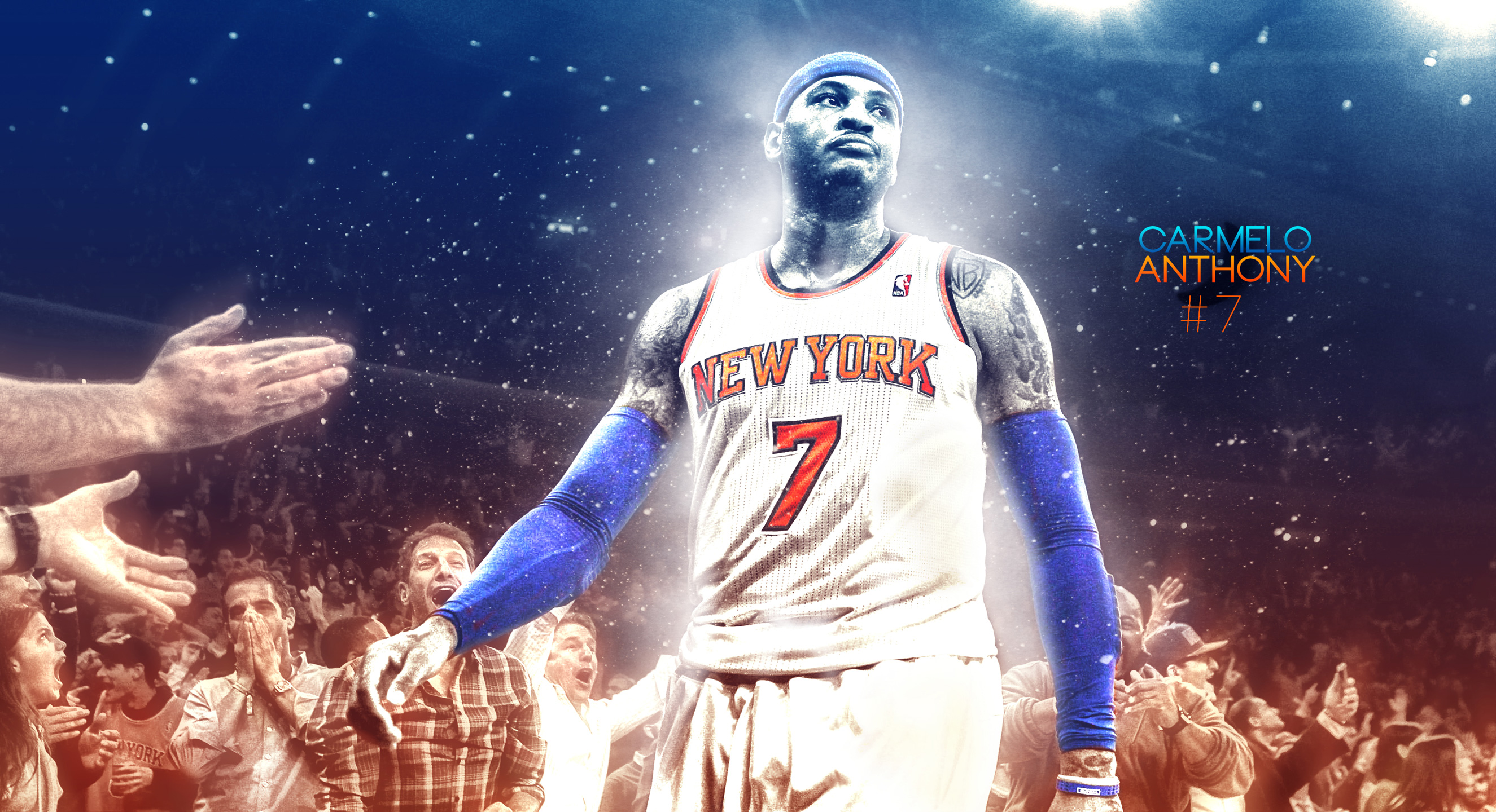 Carmelo Anthony Knicks 2015 2560x1440 Wallpaper