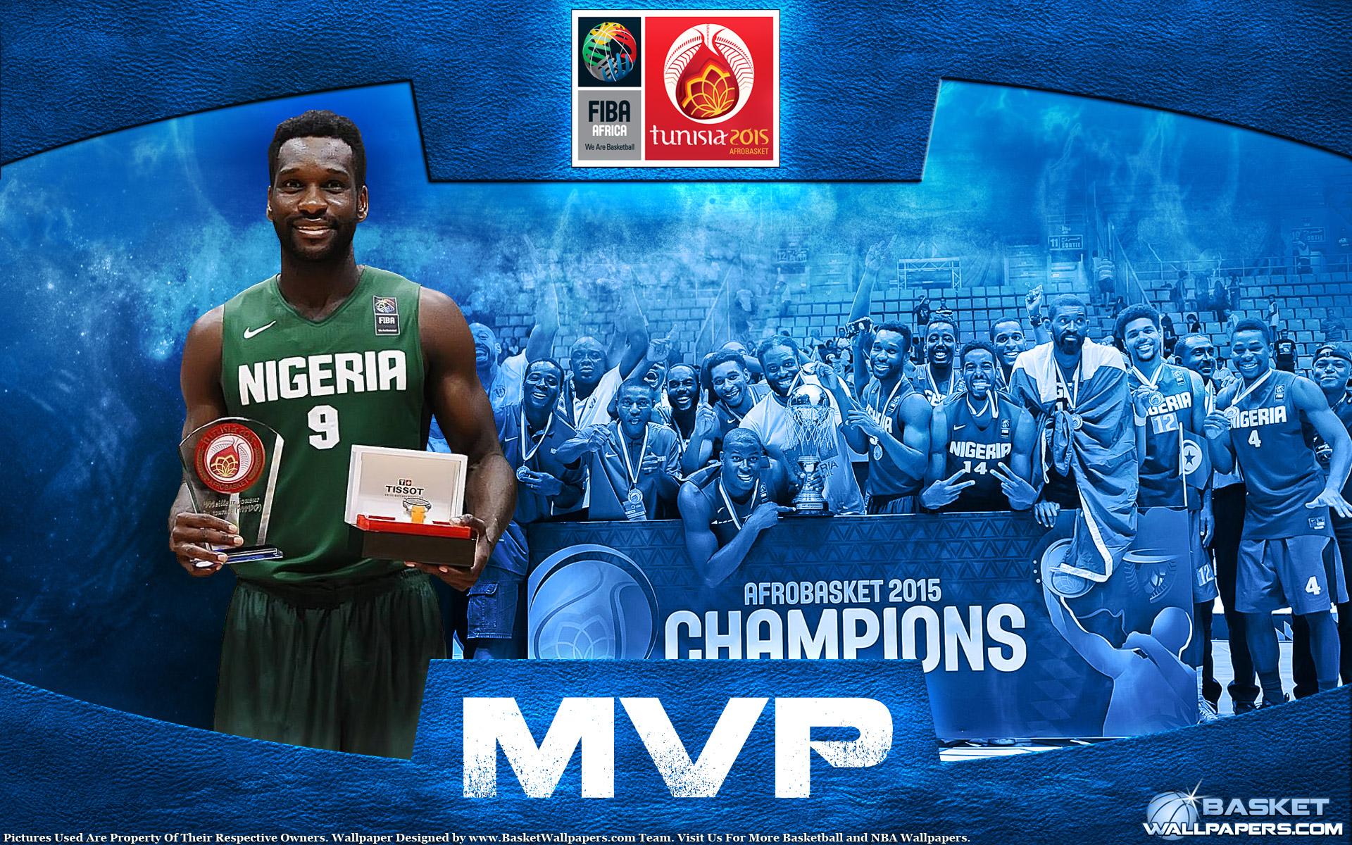 Chamberlain Oguchi Nigeria 2015 Afrobasket MVP Wallpaper