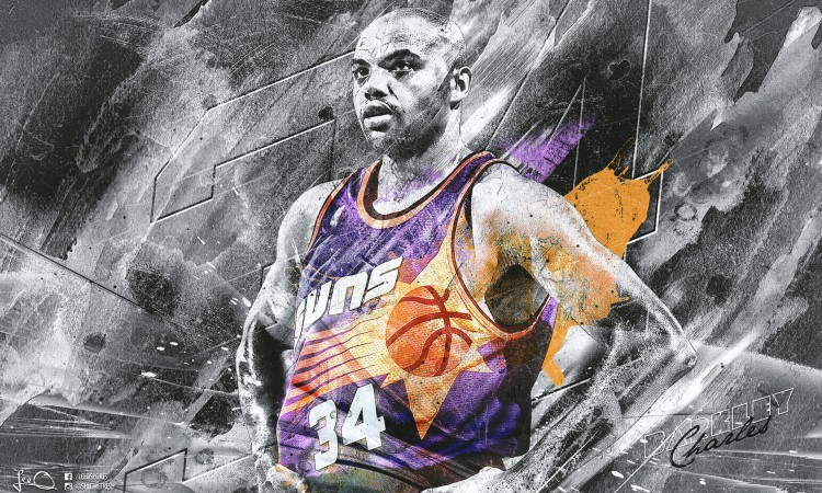 Charles Barkley Phoenix Suns Legend 1920x1200 Wallpaper
