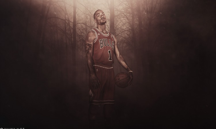 Derrick Rose Bulls 2015 2560x1600 Wallpaper