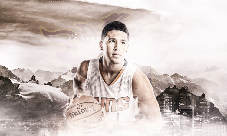 Devin Booker 2015 Phoenix Suns Wallpaper
