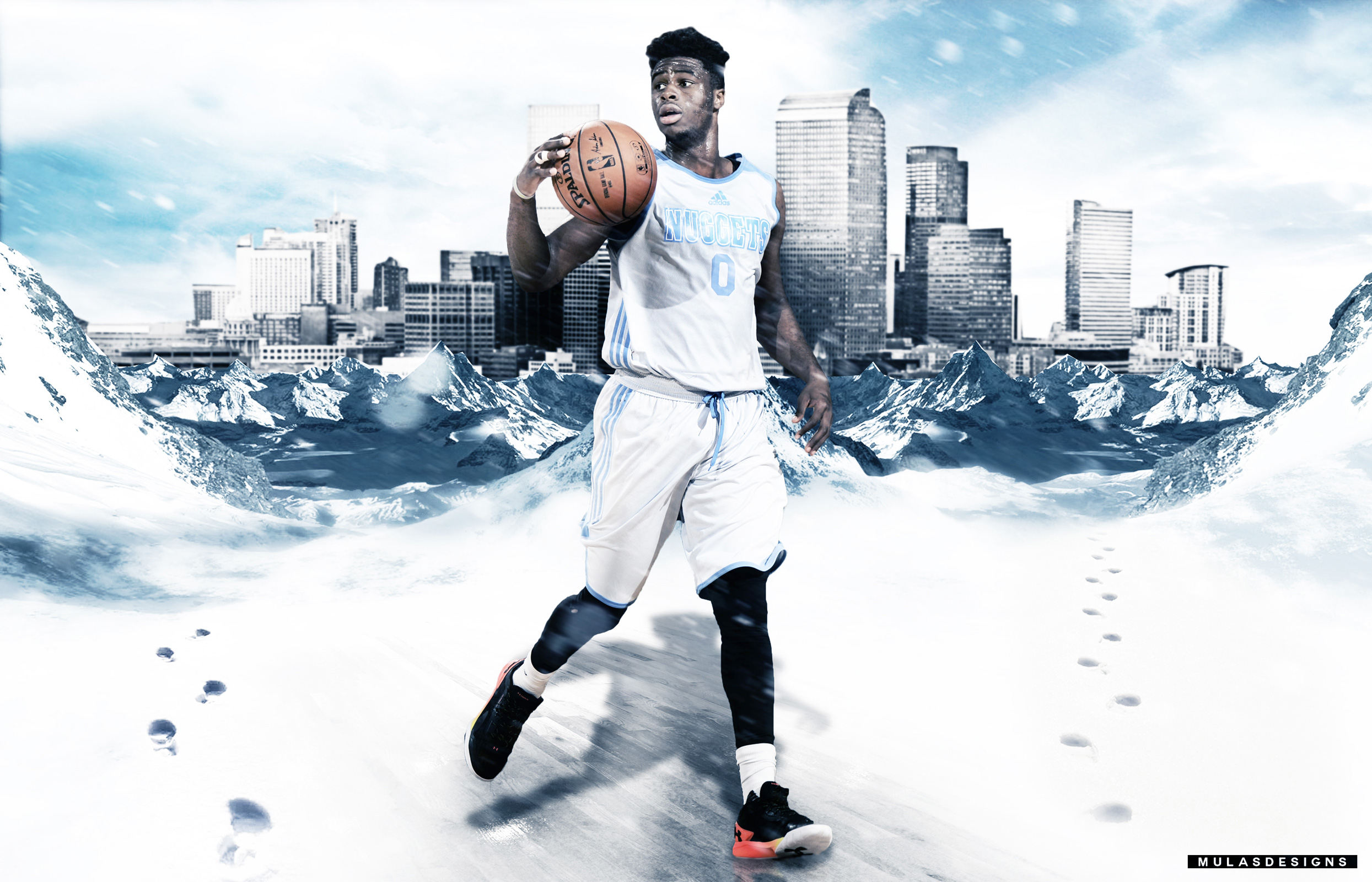 Emmanuel Mudiay Nuggets 2015 2560x1600 Wallpaper
