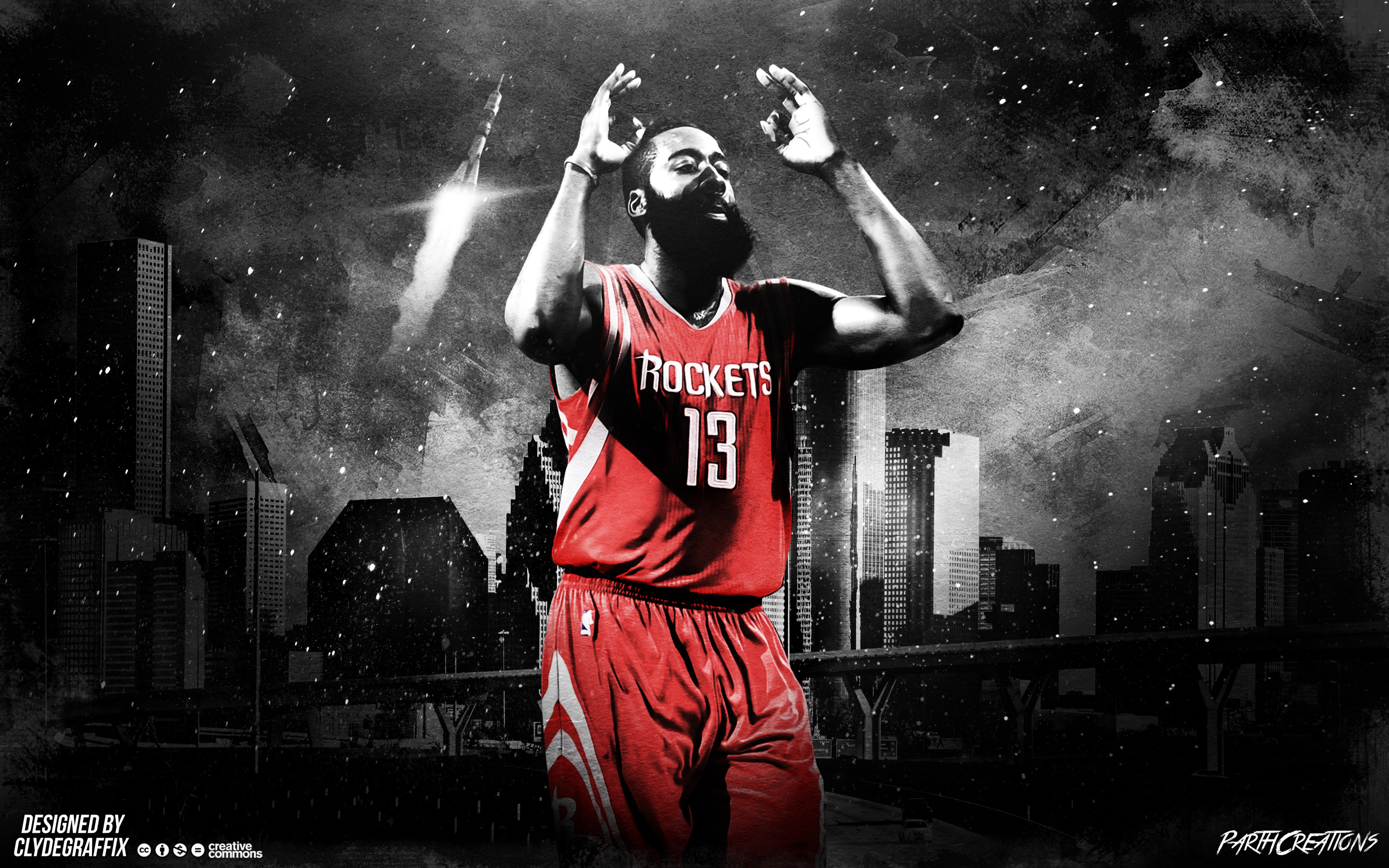 James Harden Rockets 2015 2880x1800 Wallpaper