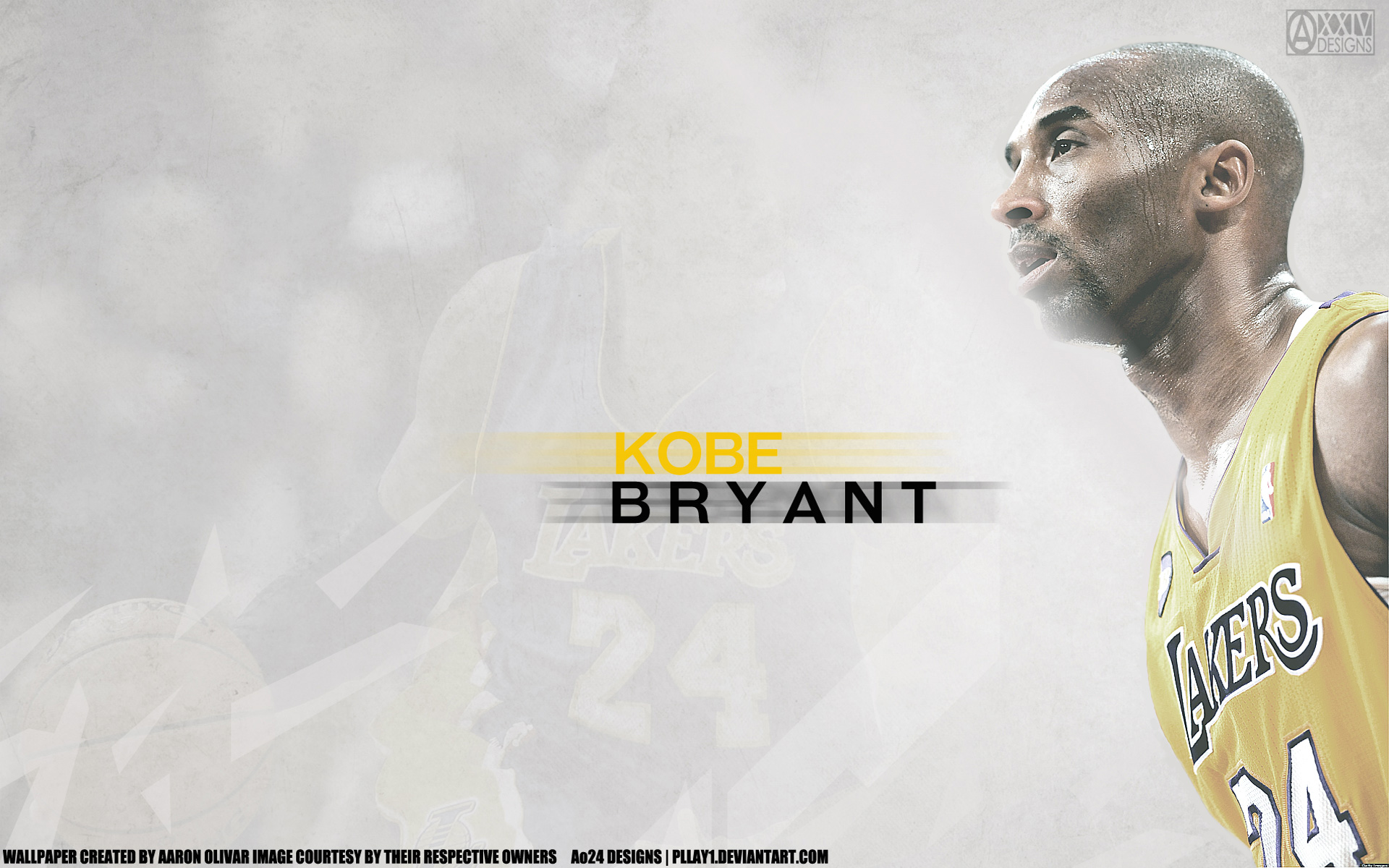 Kobe Bryant LA Lakers 2015 1920x1200 Wallpaper