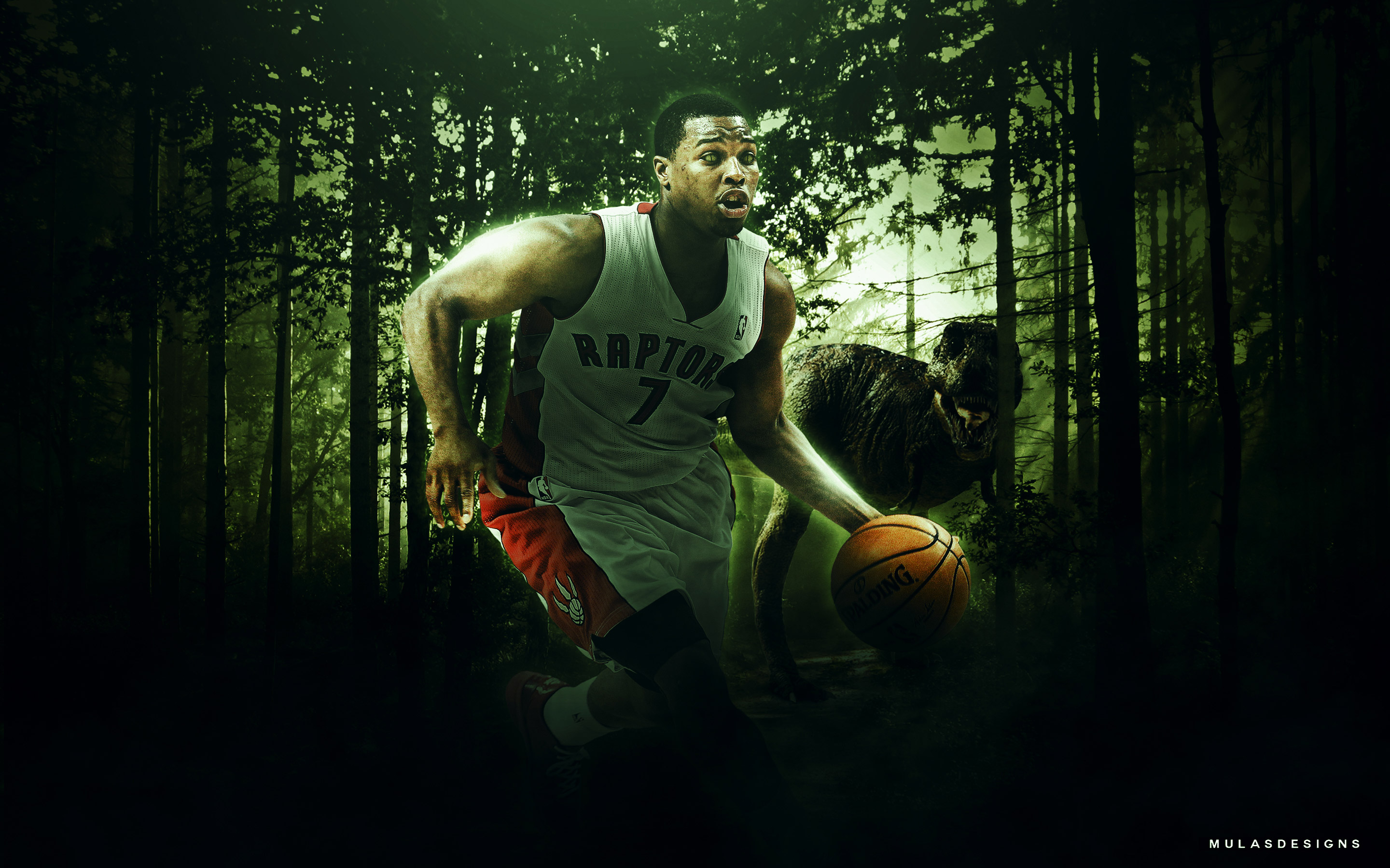 Kyle Lowry Raptors 2015 2880x1800 Wallpaper