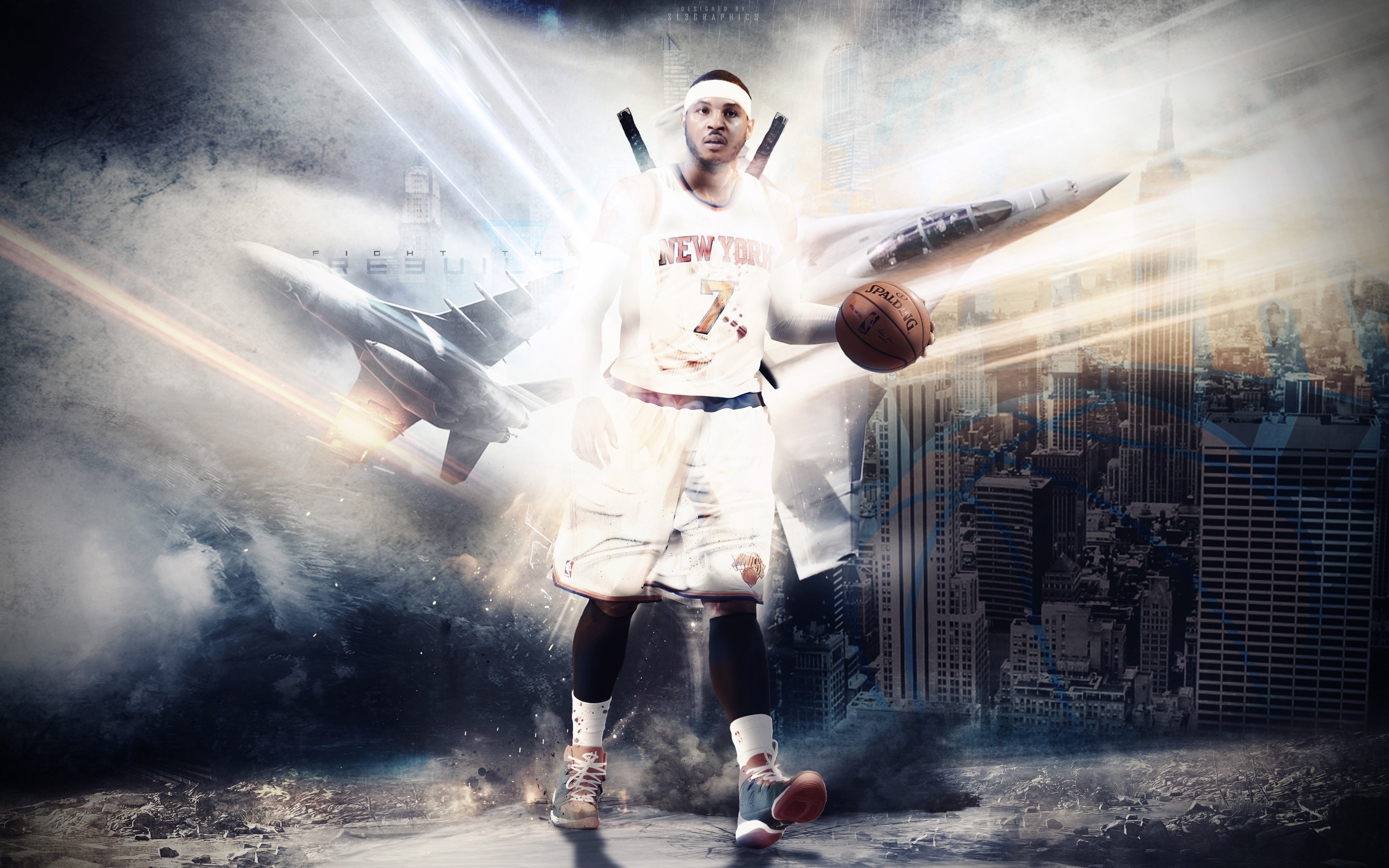 Melo NY Knicks 2015 Wallpaper