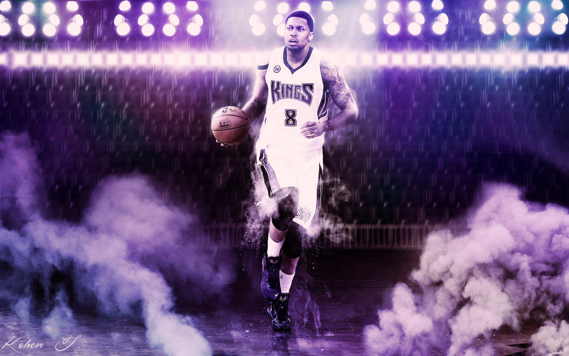 Rudy Gay Sacramento Kings 2015 1920x1200 Wallpaper