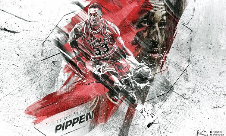 Scottie Pippen Bulls 2015 1920x1200 Wallpaper