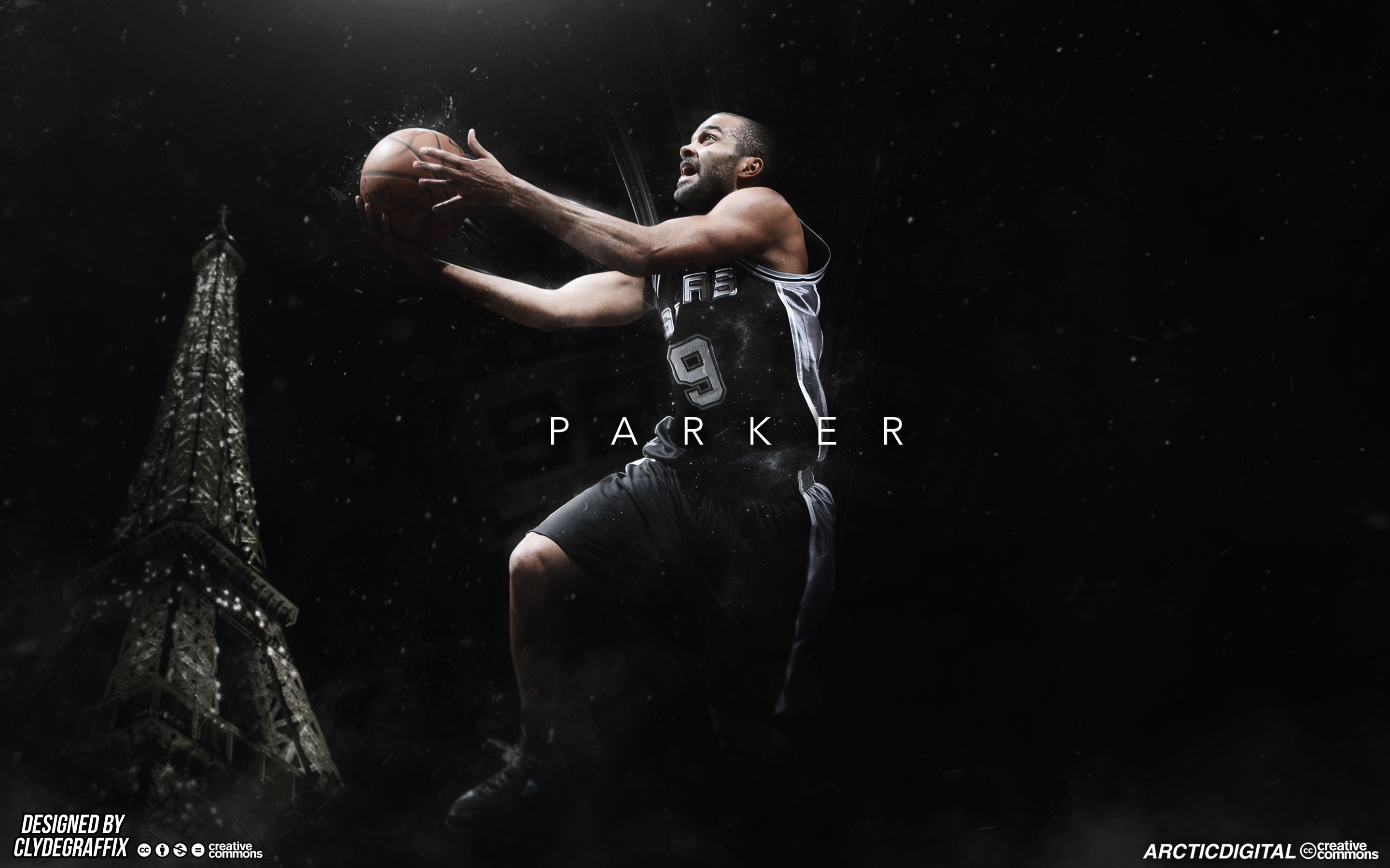 Tony Parker San Antonio Spurs 2015 Wallpaper