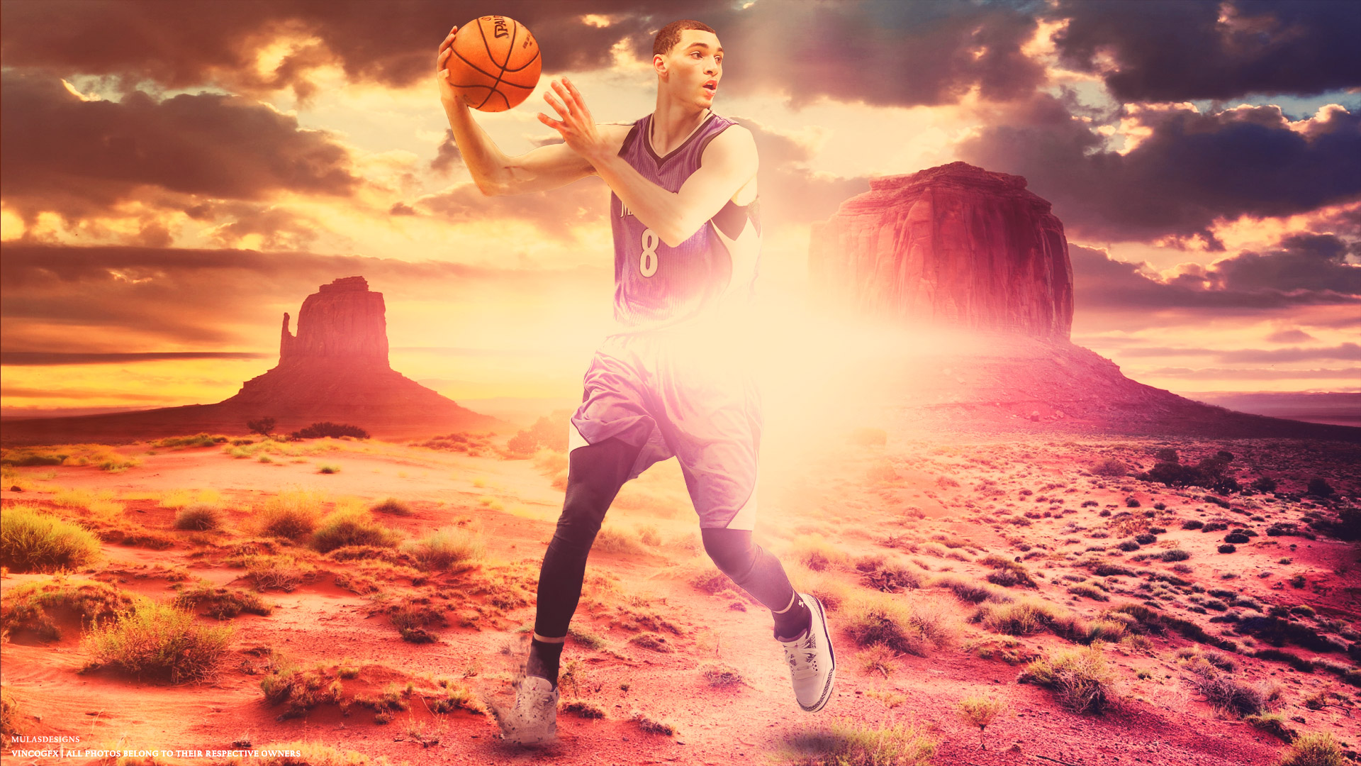 Zach LaVine Timberwolves 2015 1920x1080 Wallpaper