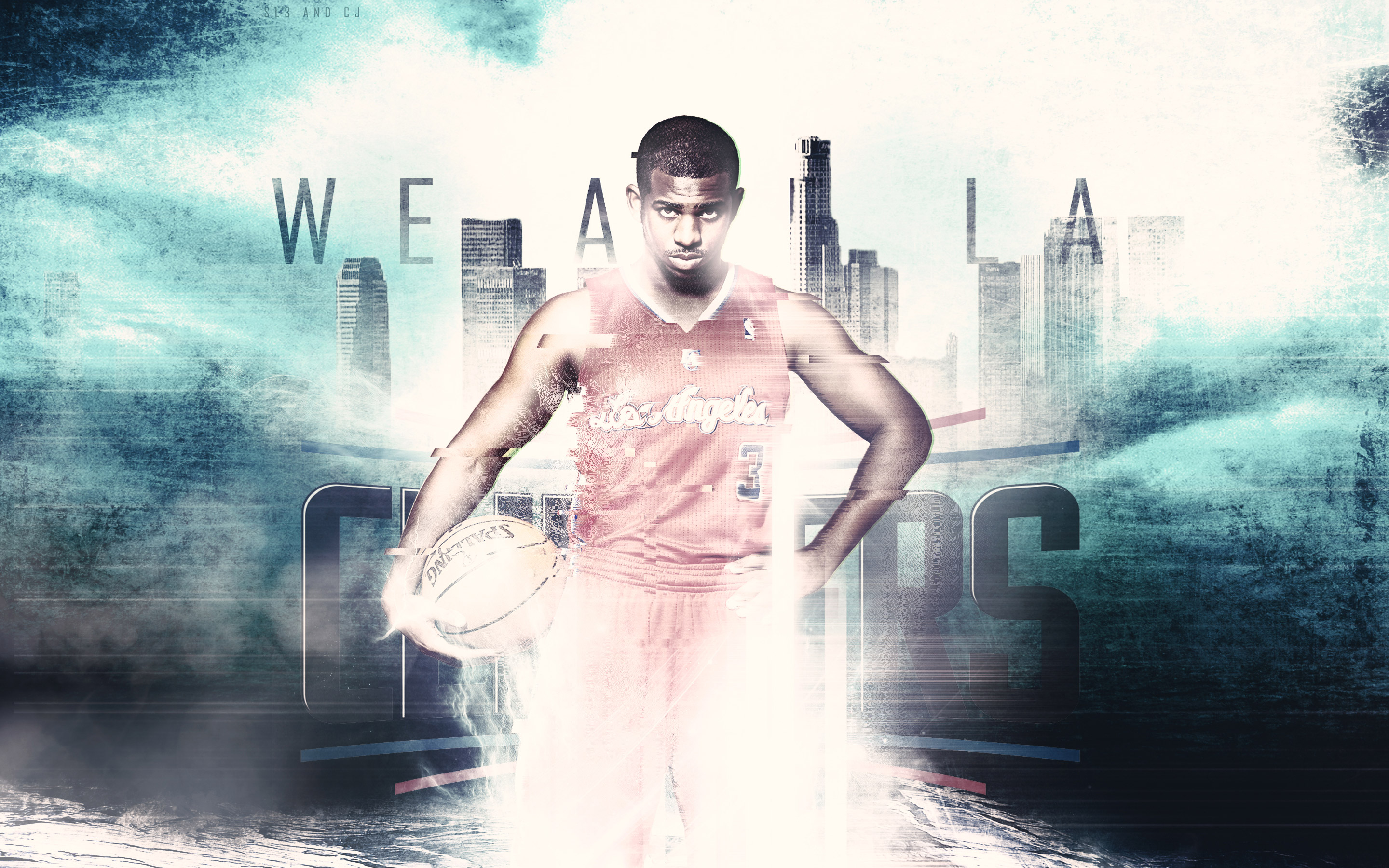 chris paul we are la clippers wallpaper basketball