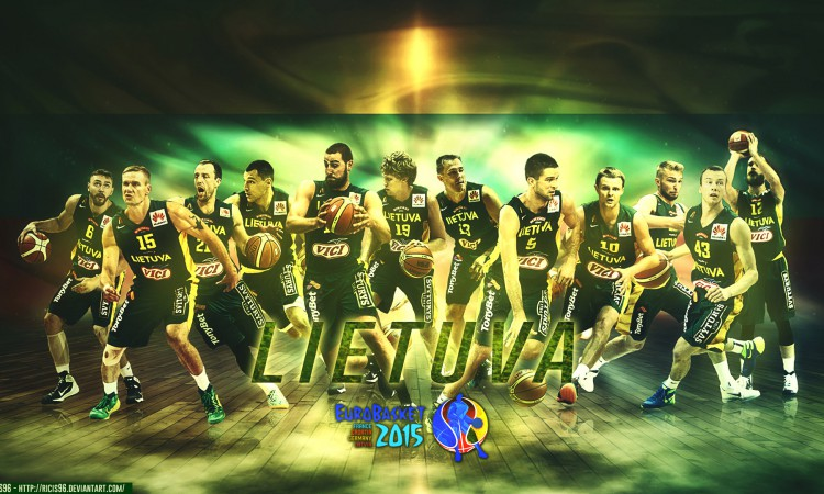 Lithuania Team Eurobasket 2015 1920x1080 Wallpaper