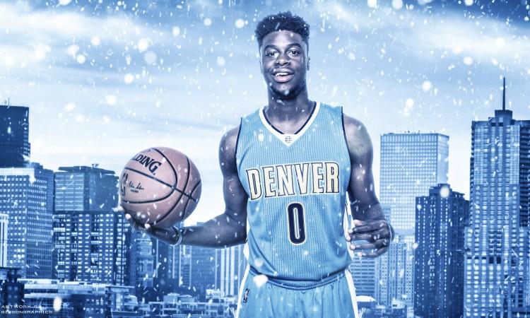 Emmanuel Mudiay Denver Nuggets 2015-2016 Wallpaper