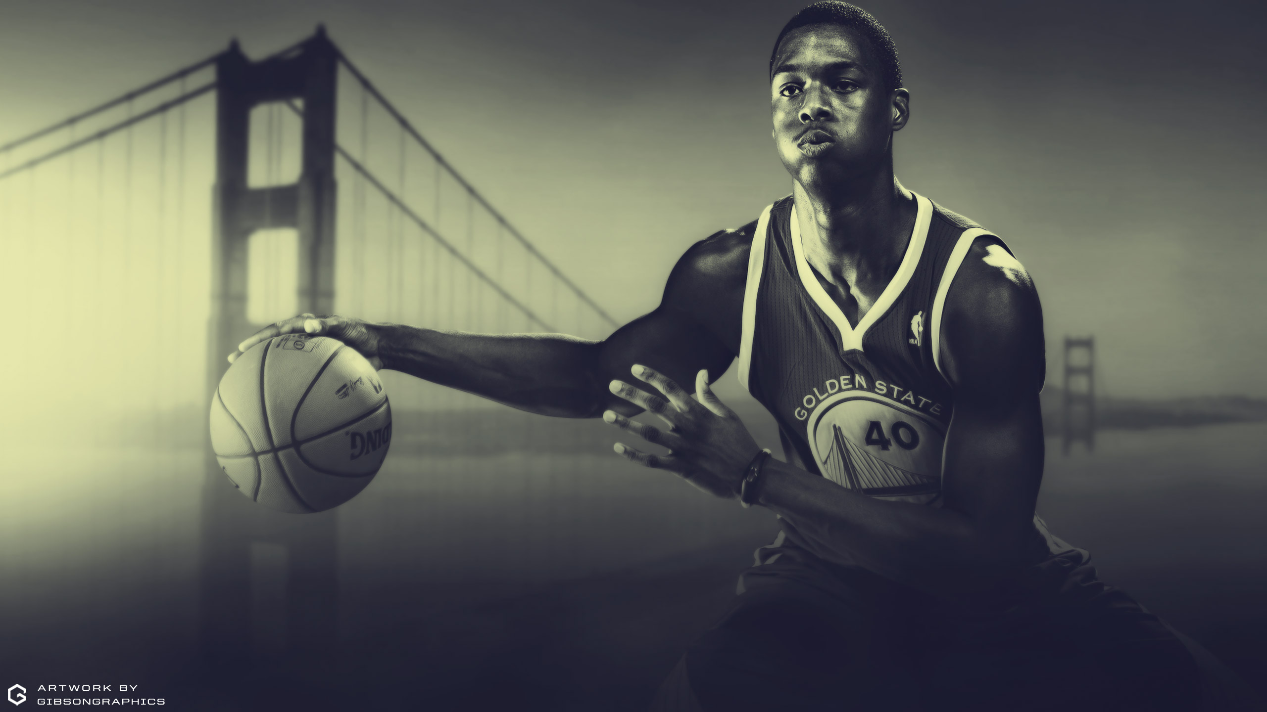 Harrison Barnes Warriors 2015 Wallpaper