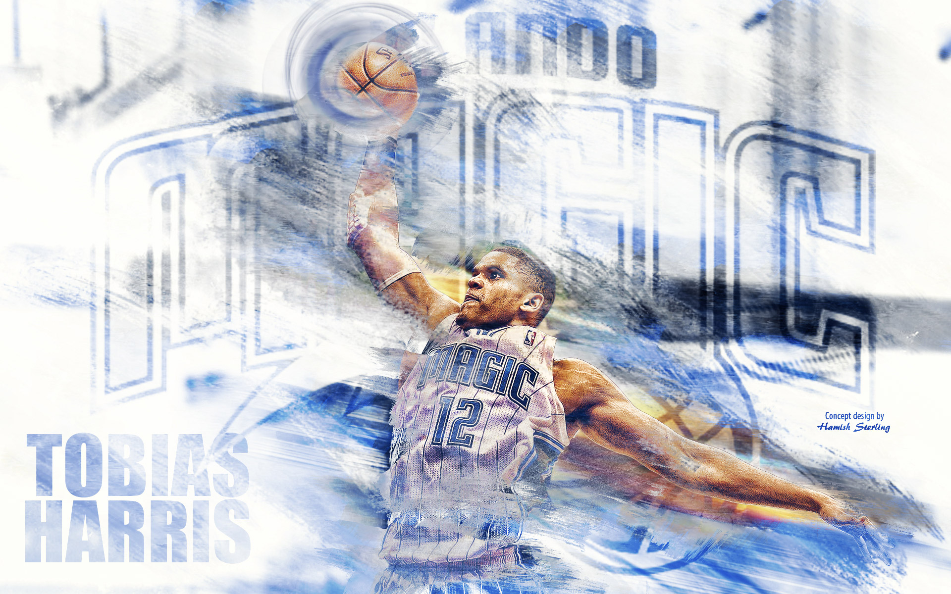 Tobias Harris Orlando Magic 2015 Wallpaper
