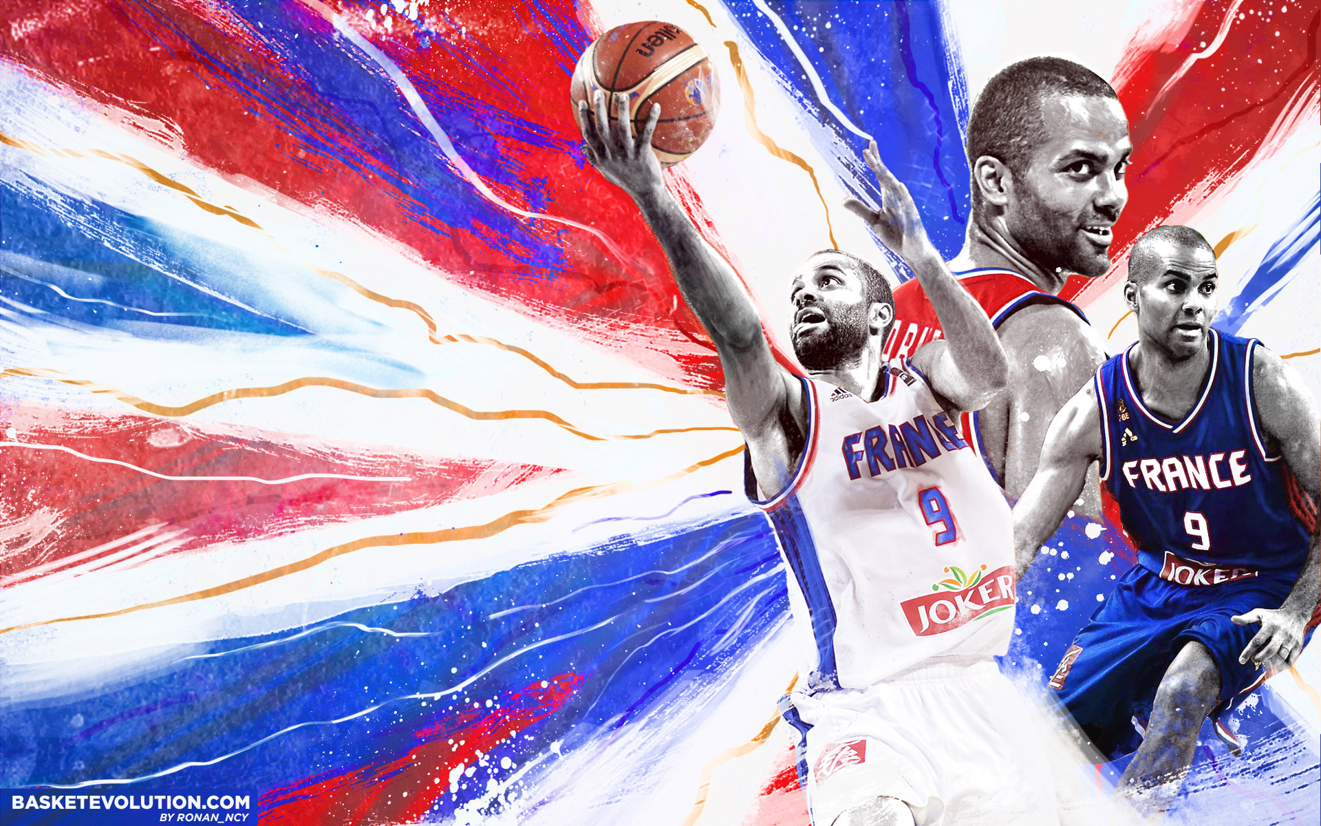 Tony Parker France Team 2015 Wallpaper | Basketball ...