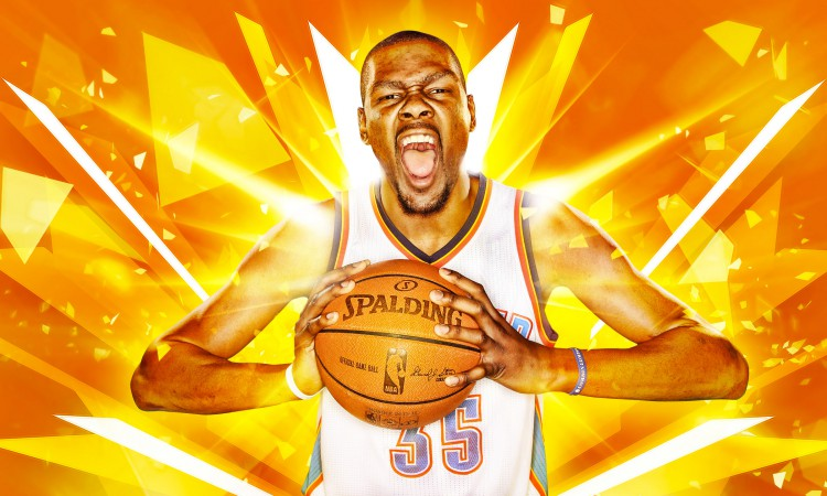 Kevin Durant OKC Thunder 2016 Wallpaper