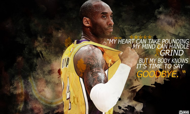 Kobe Bryant Retirement Quote 1920x1200 Wallpaper